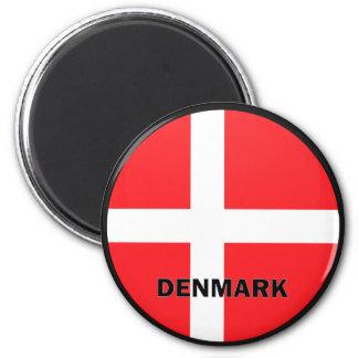 Denmark Roundel quality Flag 6 Cm Round Magnet