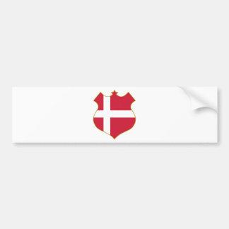Denmark-shield.png Bumper Sticker