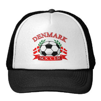 Denmark soccer ball designs mesh hats