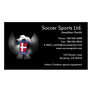 Denmark Soccer Champions Pack Of Standard Business Cards