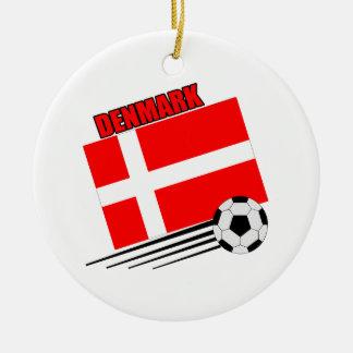 Denmark - Soccer Team Christmas Ornament