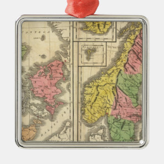 Denmark, Sweden, and Norway Christmas Ornament