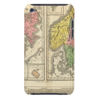 Denmark, Sweden, and Norway iPod Touch Case-Mate Case