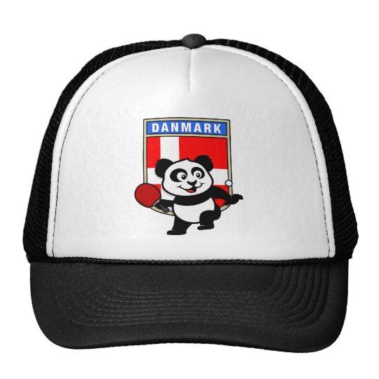 Denmark Table Tennis Panda Cap