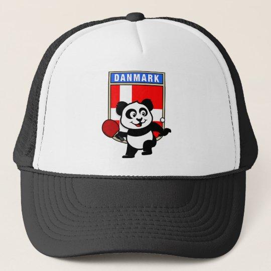 Denmark Table Tennis Panda Trucker Hat