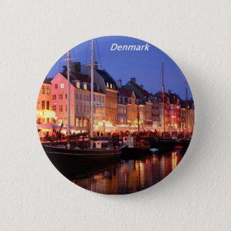 Denmark the night Angie.JPG 6 Cm Round Badge