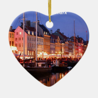 Denmark the night Angie.JPG Christmas Ornament