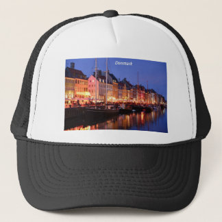 Denmark the night Angie.JPG Trucker Hat
