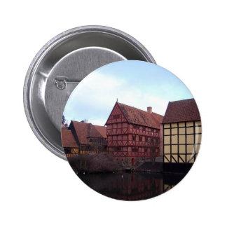 Denmark Travels Pinback Buttons