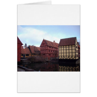 Denmark Travels Greeting Card