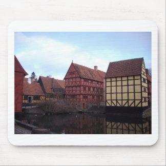 Denmark Travels Mouse Pad