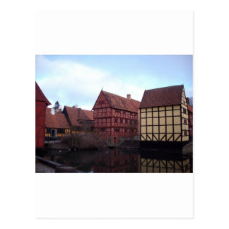 Denmark Travels Postcard