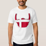 Denmark Viking Helmet Danish flag gifts Shirts