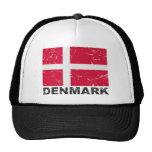 Denmark Vintage Flag Hats
