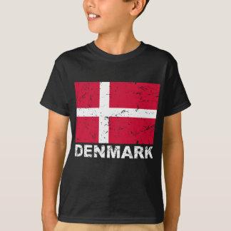 Denmark Vintage Flag T-Shirt