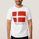 Denmark with Dannebrog T Shirt