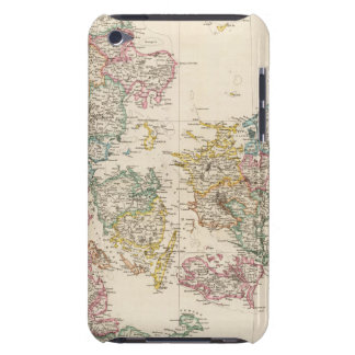 Denmark with inset map of Iceland iPod Touch Case
