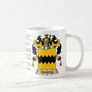 Denning Family Reunion Coffee Mug