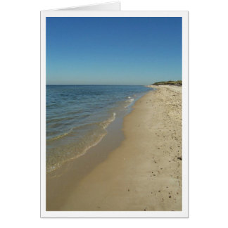 Dennis Beach Greeting Card