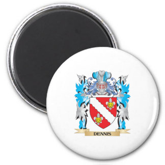 Dennis Coat of Arms - Family Crest Refrigerator Magnets