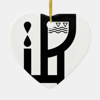 Dennis Dewide Ceramic Heart Decoration