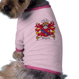 Dennis Family Crest Doggie T-shirt