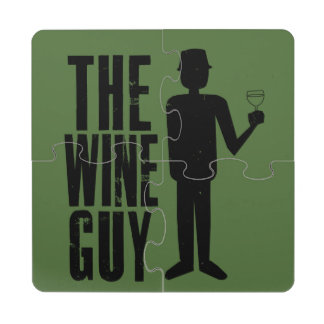 Dennis Gary Wines Puzzle Coaster