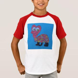 Dennis Kids' Augusta Retro Striped Sleeve T-Shirt