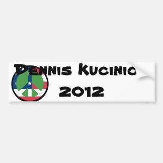 Dennis Kucinich 2012 Bumper Sticker