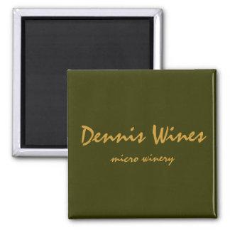 Dennis Wines Refrigerator Magnet