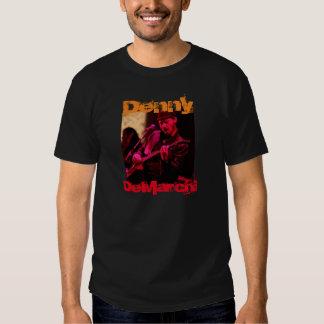 Denny DeMarchi Playing Guitar Tee Shirts