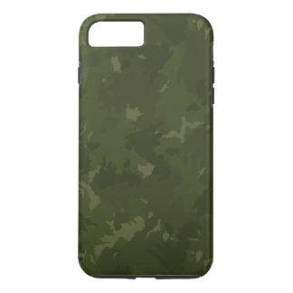 Dense Green/black Camouflage iPhone 8 Plus/7 Plus Case
