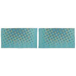 Density Design in New Zealand Colours Pillowcase