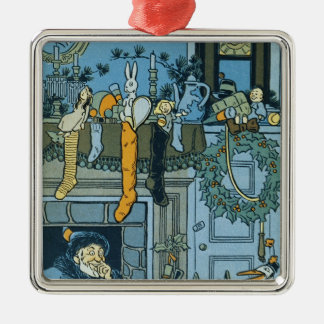 Denslow's Night Before Christmas Illustration Christmas Ornament