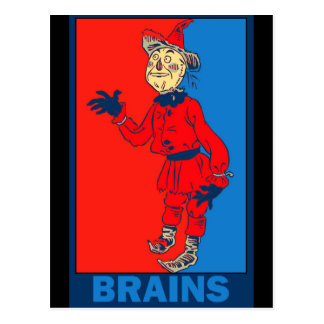 Denslow's Wizard of Oz: Brains Postcard