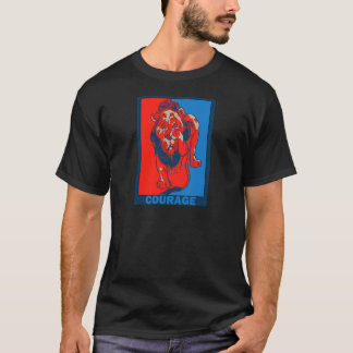 Denslow's Wizard of Oz:: Courage T-Shirt