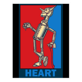 Denslow's Wizard of Oz: Heart Postcard
