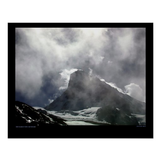 Dent Blanche Switzerland Posters