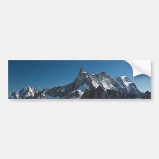 Dent du Geant - Mont Blanc Bumper Sticker