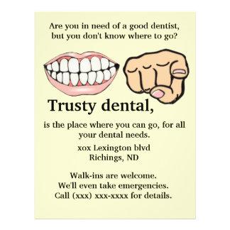 Dental advertising Flyer
