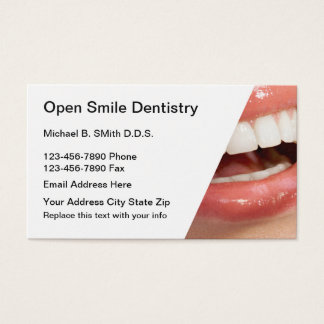 Dental Appointment Businesscards Business Card