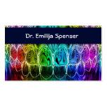Dental art business card template