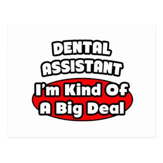 Dental Assistant...Big Deal Post Card