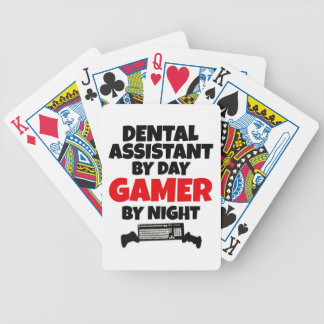 Dental Assistant by Day Gamer by Night Bicycle Playing Cards