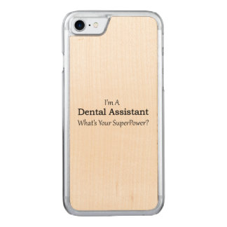 Dental Assistant Carved iPhone 7 Case