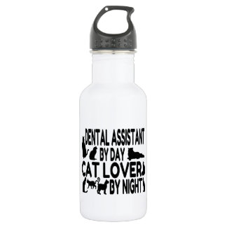 Dental Assistant Cat Lover 532 Ml Water Bottle