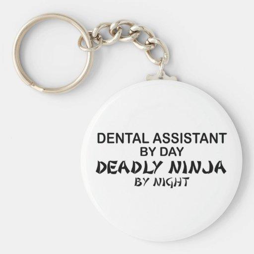 Dental Assistant Deadly Ninja Key Chain