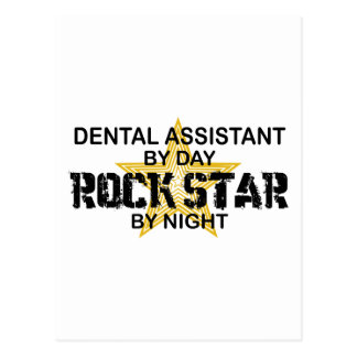 Dental Assistant Rock Star Postcard