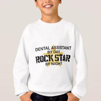 Dental Assistant Rock Star Sweatshirt