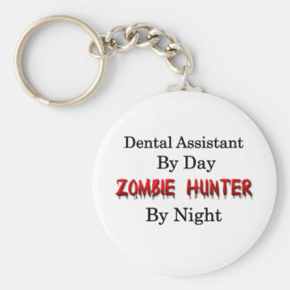 Dental Assistant/Zombie Hunter Key Chain